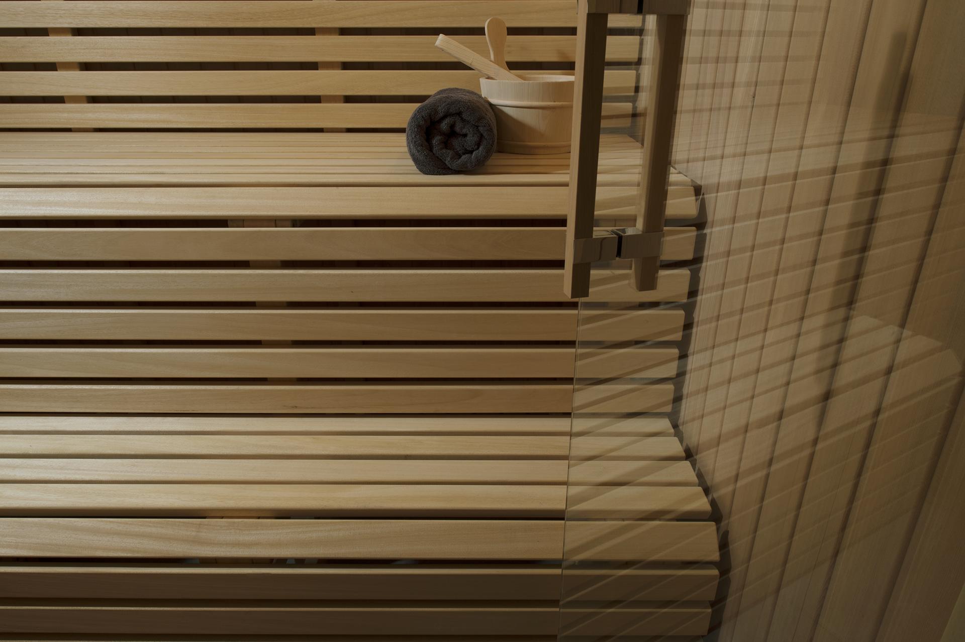 Sauna auf kleinstem Raum, Koepke und Kasiske Tischlerei Rügen