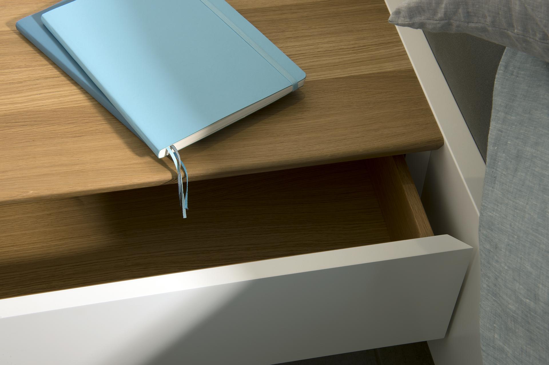 Schublade Design abgeschrägte Kante, Koepke und Kasiske, Tischlerei Rügen